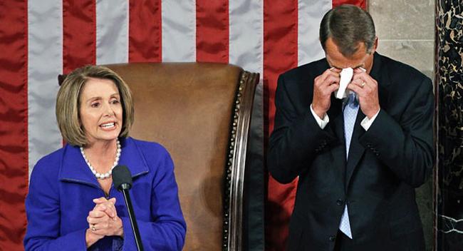 Pelosi Boehner