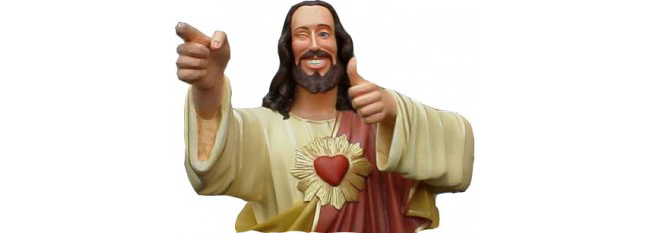 Jesus Winking 650pw