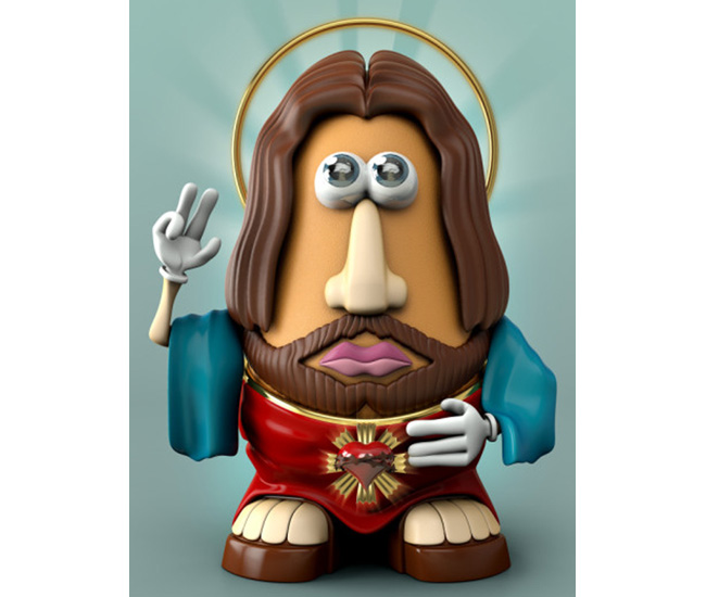 Potato Head Jesus 2