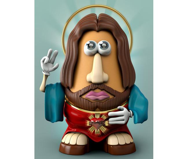 Potato Head Jesus 2