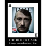 Need (another) war? No sweat! Just play The Hitler Card.