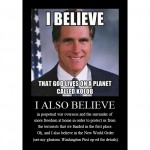 Mitt Romney preaches the New World Order gospel of perpetual war and an all-powerful State…again…