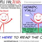 Encouragement from Satan