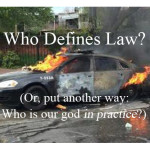 "Who defines ""lawlessness""? Who defines ""law""? (Or: Why it's no surprise that Baltimore is burning.)"