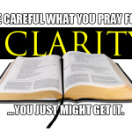 "We can't ""pray away"" the clarity of Scripture…and we shouldn't want to."