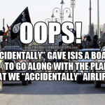 "Oops, we ""accidentally"" gave ISIS a boatload of Toyotas."