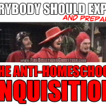Anti-Homeschool Inquisitors Seek Immunity from Law