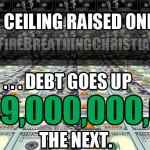 "US Debt Soars $339 Billion in a Single Day [Insert ""U! S! A!"" chant here]"