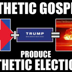 "Super-Satanic Tuesday: How's that ""lesser of two evils"" deal looking now?"