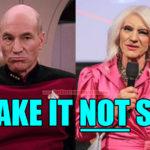Captain Picard/Professor X Goes Drag Queen
