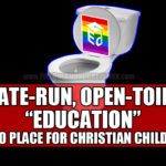 Will Obama's decree of open toilet education finally wake up Christian parents and inspire an exodus from public schools?