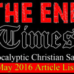The End Times (Christian Satire) May Article List