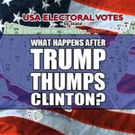 What happens after Trump thumps Hillary in November?