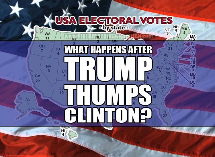 TrumpThumpsClinton