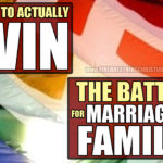The one (and only) way to save marriage and family in America (or anywhere else).