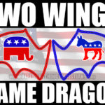 Two Wings Of The Same Dragon: President Bush Plans To Vote For Hillary Clinton