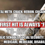 "Crack & Socialism: The First Hit Is Always ""Free"""