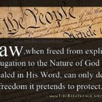 Why Our Constitution Cannot Endure In God's Creation