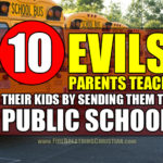 10 Evils Parents Teach Their Kids By Sending Them To Public School