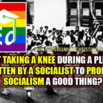 "Should ""Salt And Light"" Christians Take A Knee During The Socialist-Written, Socialism-Promoting Pledge of Allegiance?"