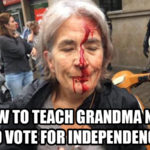 Catalans Vote For Independence; Federal Government Responds By Shooting And Beating Them