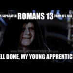 Liberty, Tyranny & Romans 13