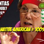"""Why doesn't Elizabeth Warren just """"self identify"""" as 100% Native American?"""