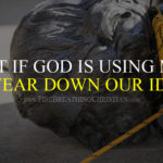 What if God is using mobs to tear down our idols?